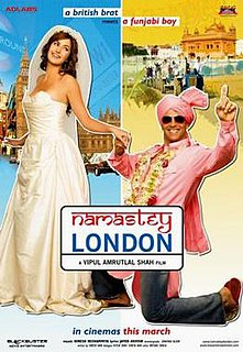 <i>Namastey London</i> 2007 film by Vipul Amrutlal Shah
