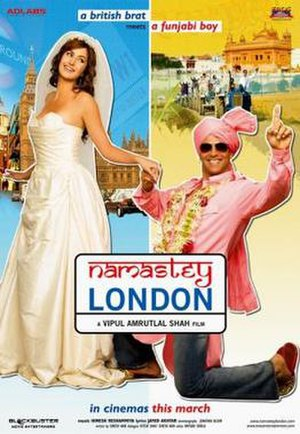 Namastey London - Theatrical release poster