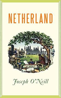 <i>Netherland</i> (novel) English language novel