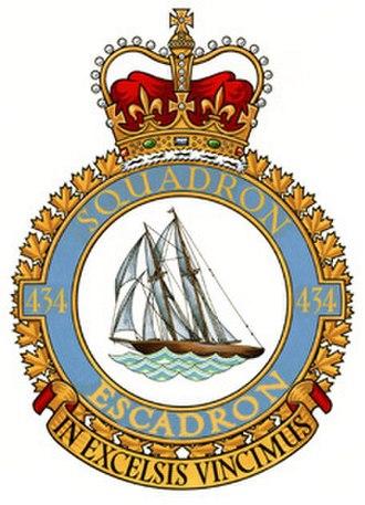 No. 434 Squadron RCAF - Image: No. 434 Squadron RCAF badge