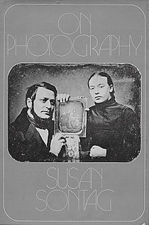 <i>On Photography</i> 1977 collection of essays by Susan Sontag