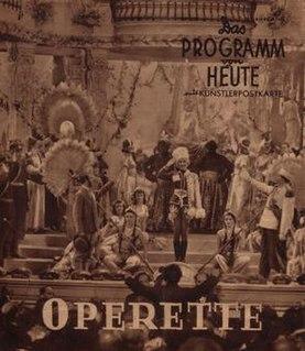 <i>Operetta</i> (film) 1940 film