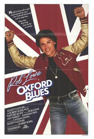 Oxford Blues - Theatrical release poster