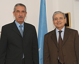 Postage stamps and postal history of the Palestinian National Authority - The PNA maintains relations with the Universal Postal Union, though it is not a member. In 2007, PNA minister Kamel Hassounah met with UPU director general Edouard Dayan.