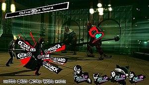 Persona 5 - Image: Persona 5 Palace Combat