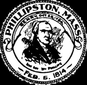 Phillipston, Massachusetts - Image: Phillipston MA seal