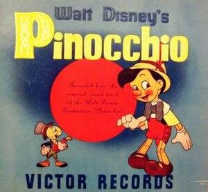 Pinocchio (soundtrack) - Image: Pinocchio album
