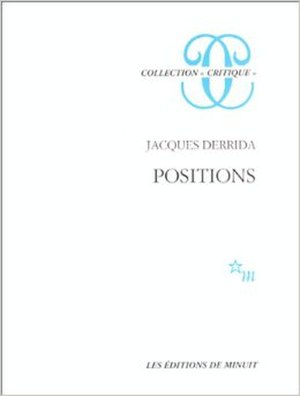 Positions - Cover of the first edition