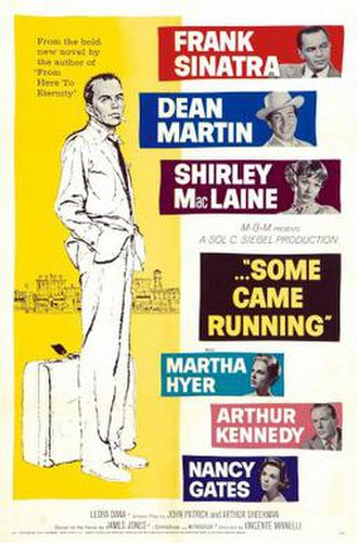 Some Came Running (film) - Original theatrical release poster