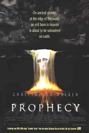 The Prophecy (film series) - Theatrical release poster of the first film of the series