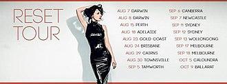 Reset (Tina Arena album) - Image: Reset Tina Arena Tour Promo