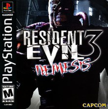 Image result for resident evil 3 cover