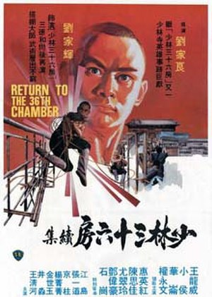 Return to the 36th Chamber - The Hong Kong film poster.
