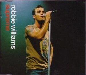 Supreme (song) - Image: Robbie williams supreme s 1