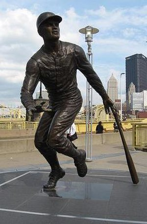 Roberto Clemente - A statue of Clemente outside of PNC Park in Pittsburgh.