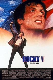<i>Rocky V</i> 1990 American film