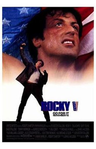 Rocky V - Theatrical release poster