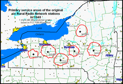 Rural Radio Network Wikipedia - Us map milkshed