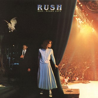 Exit...Stage Left - Image: Rush Exit Stage Left