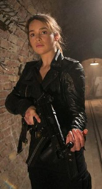 Sarah Connor (Terminator) - Emilia Clarke as Sarah Connor in Terminator Genisys