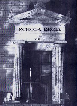 Schola Regia 1986 Vol 82