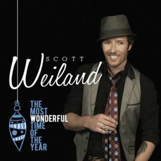 The Most Wonderful Time of the Year (Scott Weiland album) - Image: Scott Weiland Most Wonderful