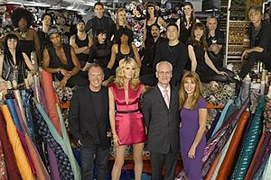 Project Runway (season 5) - Image: Season 5Cast