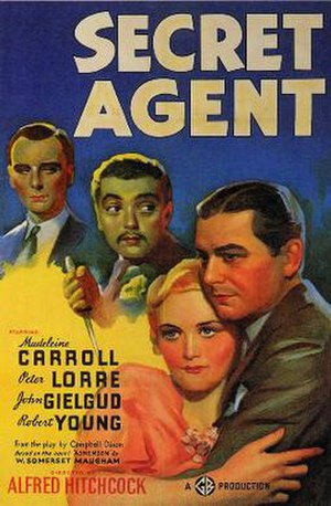 Secret Agent (1936 film) - Theatrical release poster
