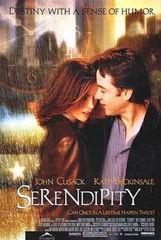 Serendipity (film) - Image: Serendipity poster