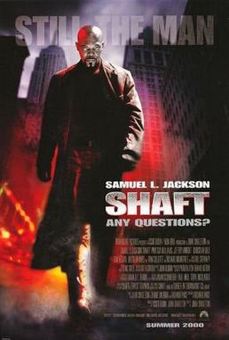 Shaft (2000 film) - Theatrical release poster