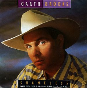 Shameless (song) - Image: Shameless (Garth Brooks single cover art)
