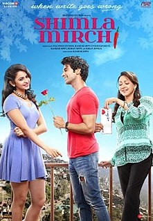 <i>Shimla Mirchi</i> 2020 Indian Hindi-language drama film