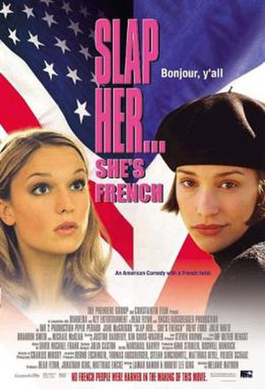 Slap Her... She's French - Theatrical release poster