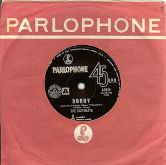 Sorry (The Easybeats song) - Image: Sorry (Easybeats song)
