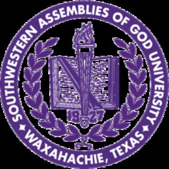 Southwestern Assemblies of God University - Image: Southwestern Assemblies of God University seal