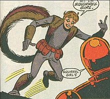 Image result for steve ditko squirrel girl