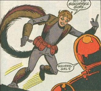 Squirrel Girl - Squirrel Girl, in her initial appearance