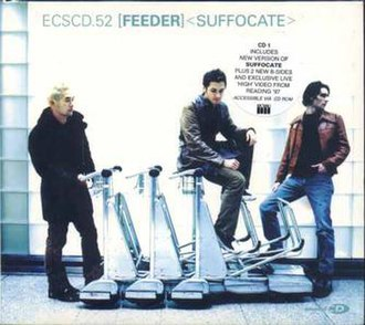 Suffocate (Feeder song) - Image: Suffocate CD Single