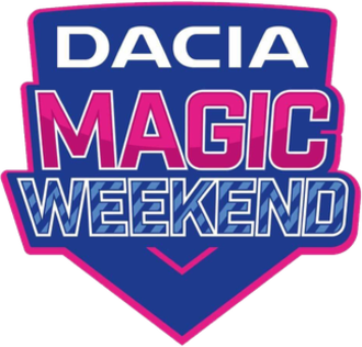 Magic Weekend - Dacia Magic Weekend logo