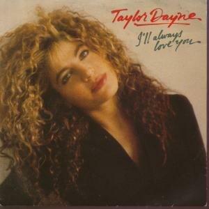 I'll Always Love You (Taylor Dayne song) - Image: Taylor Dayne – I'll Always Love You (single cover)