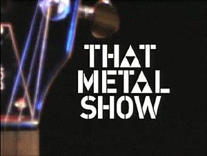 That Metal Show - Image: That metal show logo