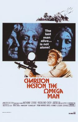 The Omega Man - Theatrical release poster