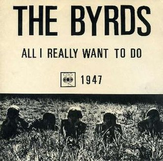 All I Really Want to Do - Image: The Byrds All I Really Want To Do