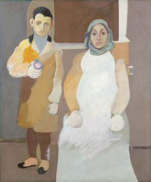 Arshile Gorky - Arshile Gorky's The Artist and His Mother (ca. 1926–1936), Whitney Museum of American Art, New York City.