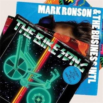 The Bike Song - Image: The Bike Song (Mark Ronson single cover art)