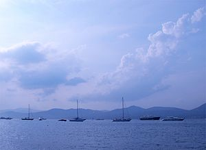 The Gulf of St. Tropez