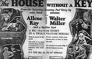 The House Without a Key (serial) - Film poster