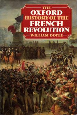 The Oxford History of the French Revolution - Cover of the first edition