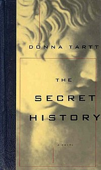 Cover to The Secret History