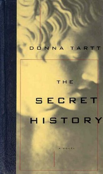 The Secret History - Cover of the first edition